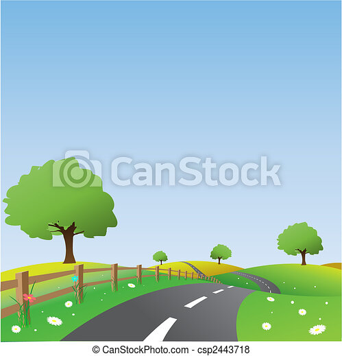Country Landscape - csp2443718