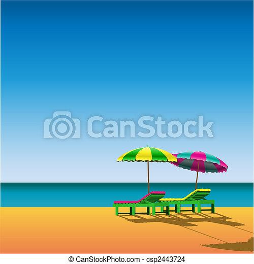 Beach - csp2443724