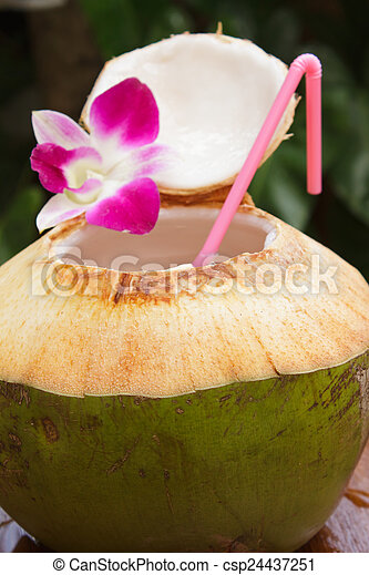 stock foto kokosnuss wasser getr nk stock bilder bilder lizenzfreies foto stock fotos. Black Bedroom Furniture Sets. Home Design Ideas