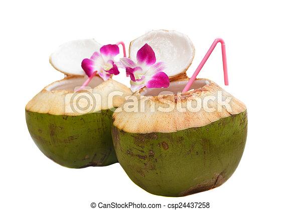 stock bilder von kokosnuss wasser getr nk thailand csp24437258 suchen sie fotos. Black Bedroom Furniture Sets. Home Design Ideas