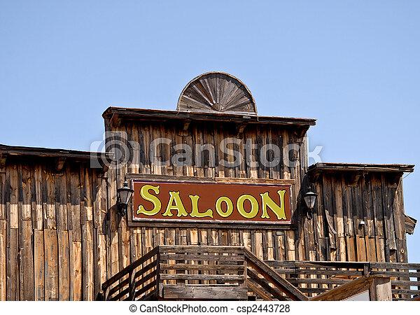 saloon - csp2443728