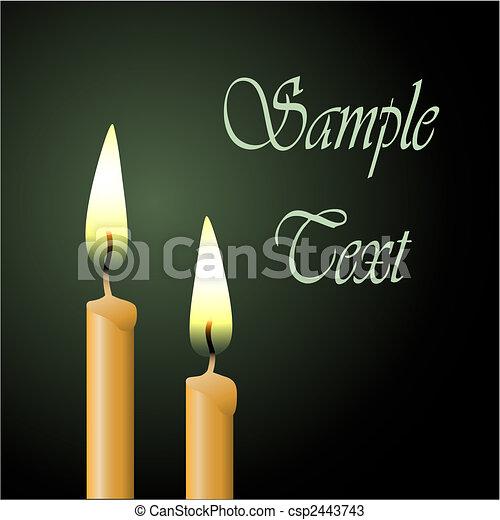 Candles - csp2443743