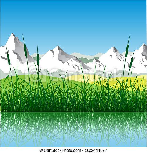 Mountain Landscape - csp2444077