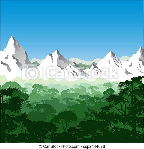 Mountain Landscape - csp2444078