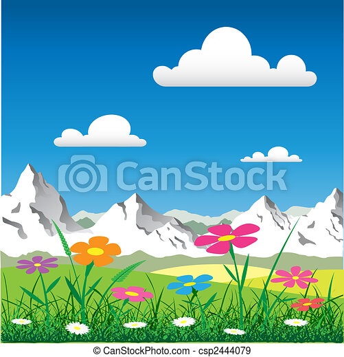 Mountain Landscape - csp2444079