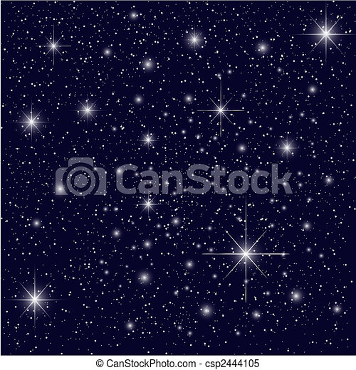 Night Sky - csp2444105