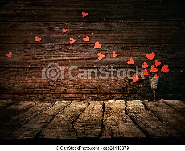 valentines, fundo - csp24446379