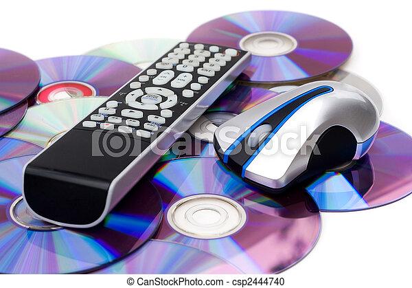 Burnt Movies Montage - csp2444740