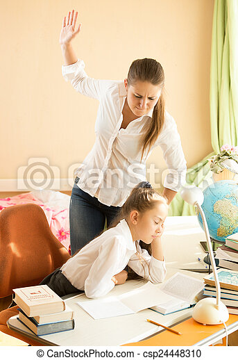 Sleeping While Doing Homework Clip - image 10