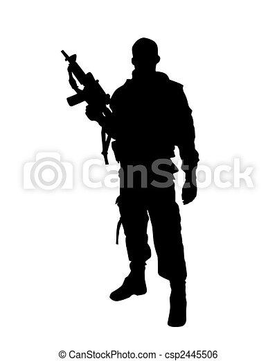 soldier - csp2445506