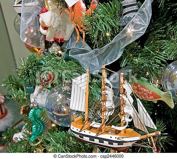 Theme Christmas Tree Christmas Tree Ocean Theme
