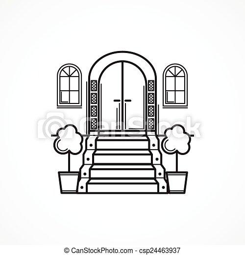 Front Door Clipart