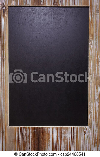 The picture of blank blackboard on