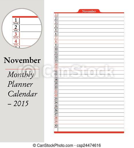 カレンダー カレンダー 2015 英語 : ... , カレンダー, -, 2015 - csp24474616
