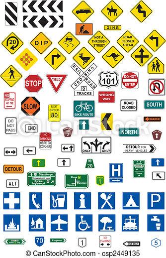 Traffic signs - csp2449135