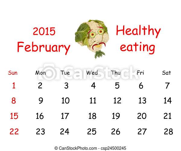 カレンダー 2015 カレンダー 2月 : 2015, カレンダー, 2 月, 面白い ...