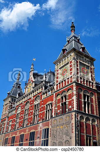 Amsterdam Central Station - csp2450780