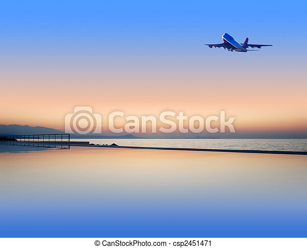 summer resort - csp2451471