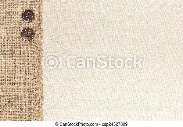 Fabric and Burlap
