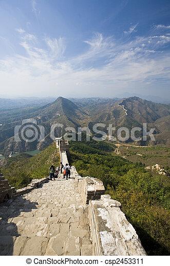 Great Wall of China - csp2453311