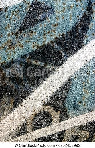 graffiti background - csp2453992