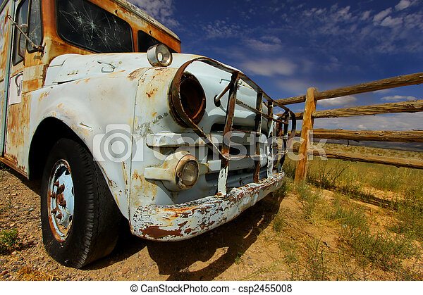 Old truck - csp2455008