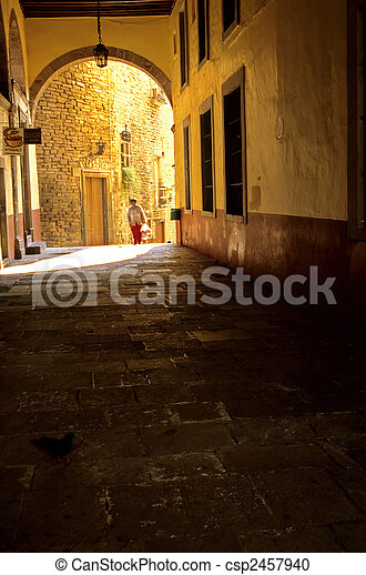 Colonial architecture in the mining town of Guanajuato, Mexico