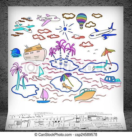 Banco de ilustra es de ver o turismo viajando for Sala de estar 3x5