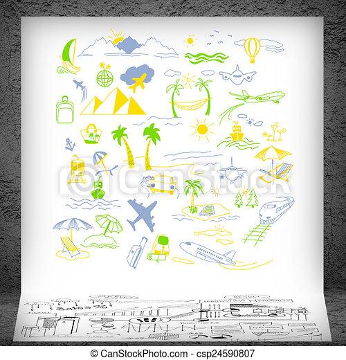 Banco de imagens de ver o turismo viajando conceito for Sala de estar 3x5