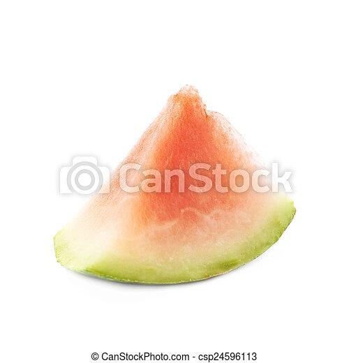 Photo triangle form past que couper isol image images photo libre de droits photos - Comment couper une pasteque ...