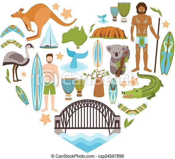 Australia heart Illustrations and Clip Art. 278 Australia heart ...