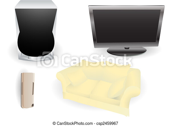 Living room objects - csp2459967