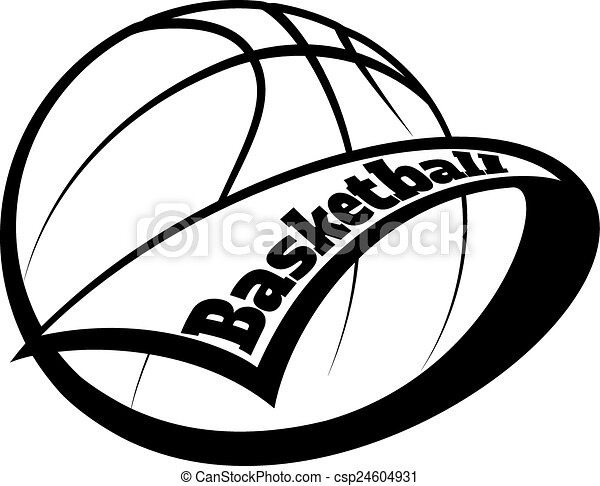 Basketball Pennant with Text - csp24604931