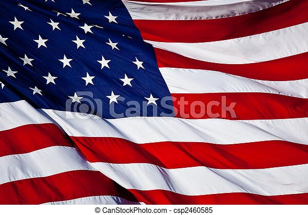 flagga, oss - csp2460585