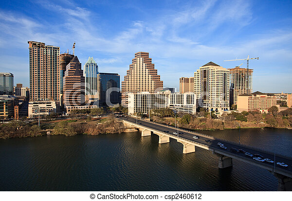 Austin Texas Downtown - csp2460612