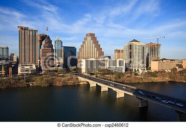 Austin Texas Downtown - csp2460612