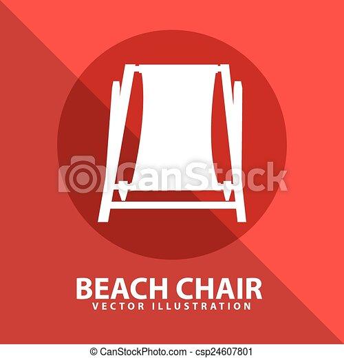 beach chair - csp24607801