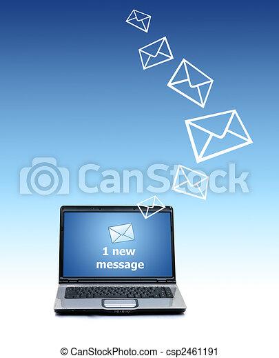 Communication concept. - csp2461191