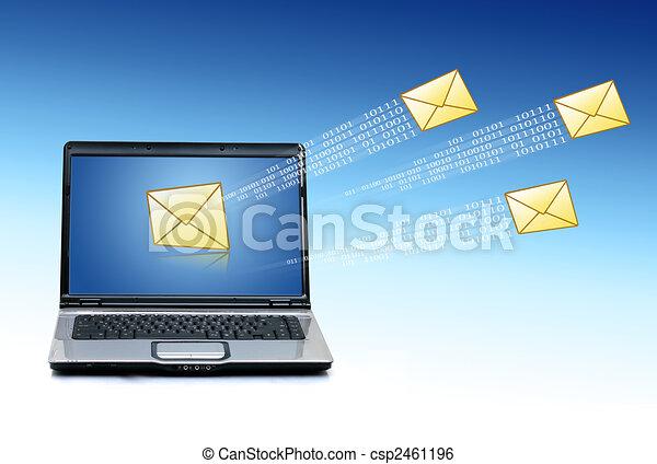 Communication concept. - csp2461196