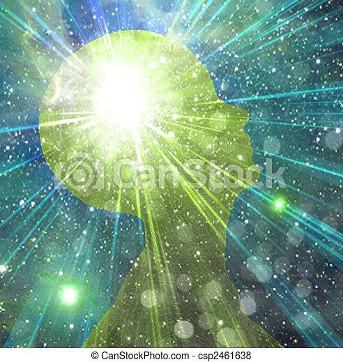Mind Power - csp2461638