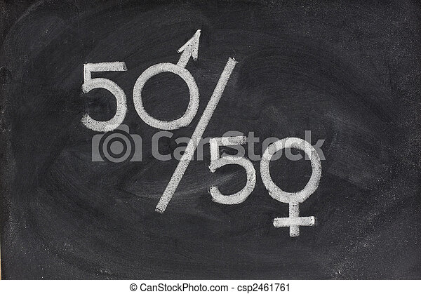gender equal opportunity or representation - csp2461761