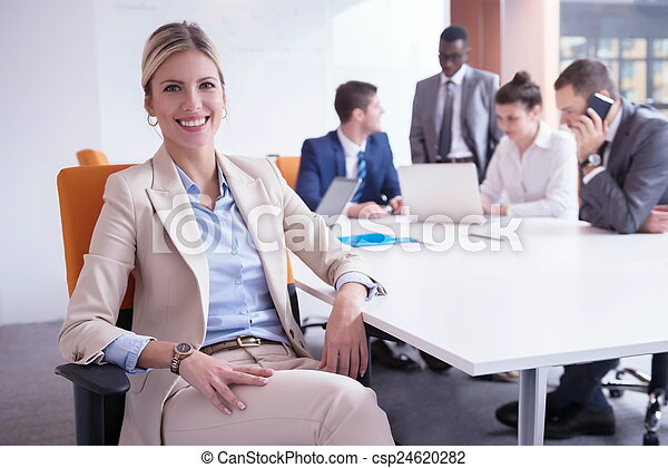 business people group at office