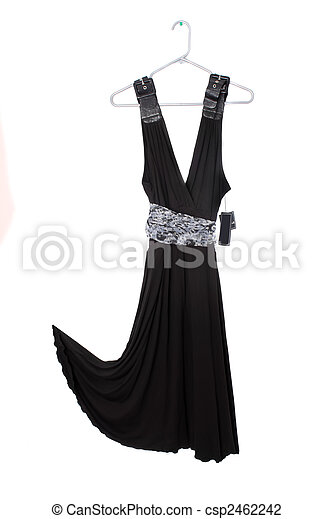 black dress sale - csp2462242