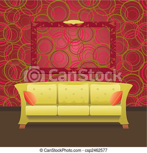 Stylish Modern interior - csp2462577