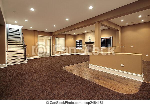 Lower level basement - csp2464181
