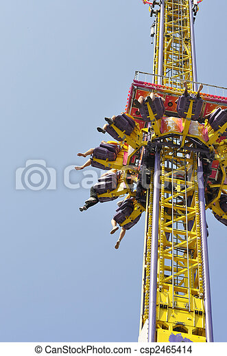Amusement Ride - csp2465414