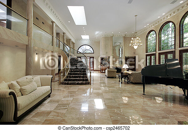 Stock Photo Of Marble Living Room Huge Great Liviing