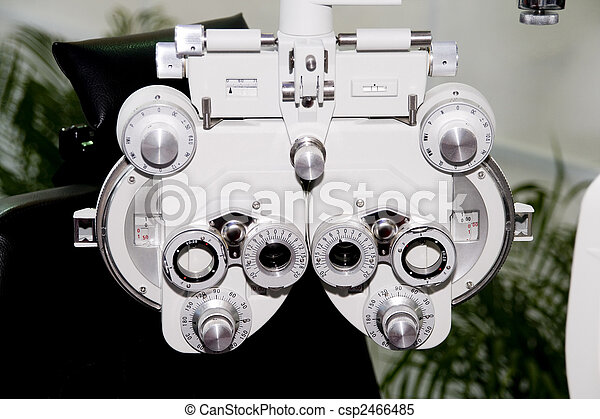 Device To The Sight Testing - csp2466485