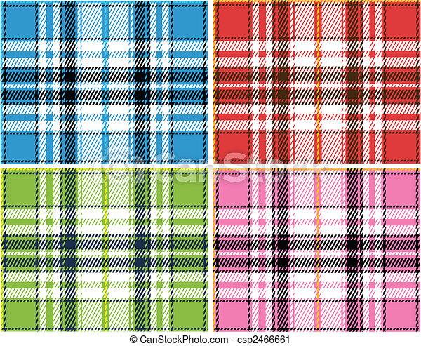 Check Fabric Pattern - csp2466661