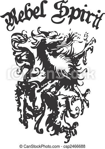 Heraldic Crest Element - csp2466688